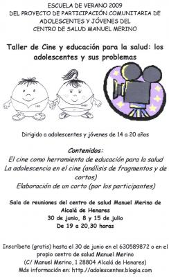 ¡Participa en la elaboración de un corto!