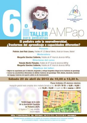 6º Taller AMPap para pediatras